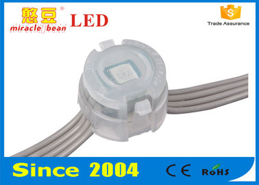 20mm DC 12V Digital RGB LED Pixel Light For Shopping Mall ​​ , LED Pixel String